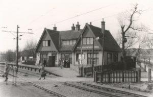 ZHESM station Waaldorpscheweg (spoorbaan Loolaan naar Scheveningen Kurhaus)