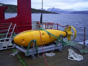 SOCRATES aan boord in een fjord