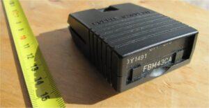 cassettehouder met de geheugenchip