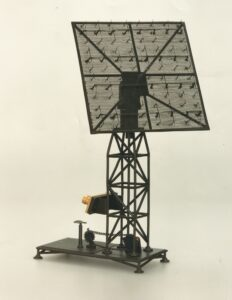 "Model of the ""electric listening device"" (radar view)"