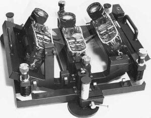 Ballistic measuring projectile's end velocity (1972)