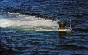 Metingen aan de HNoMS Ula (S300), een Kobben-klasse onderzeeboot