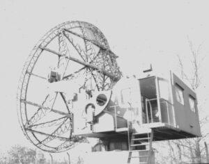 Würzburg-Riese antenne op 70 cm/435 MHz