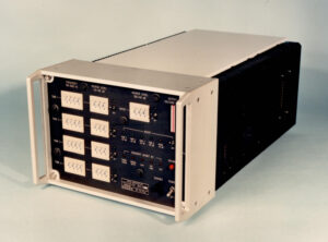 BQT stuurkast simulatie onderwatergeluid (1986)