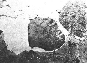 X-band SLAR-image Noordoostpolder and the first half (East part) of Flevoland (18 Oct, 1962)