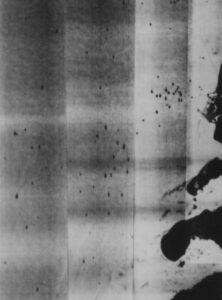 X-band SLAR opnames van scheepvaart op de Noordzee (22 augustus 1969)