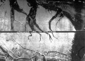 The Saeftinge area imaged with a Q-band SLAR (July 1962)