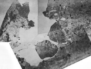 The middle of the Netherlands composed of stitched images along different tracks (18 Oct, 1962)
