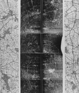 Q-band SLAR opname van Heerenveen op 1000 – 1500 ft hoogte (16 maart 1964)