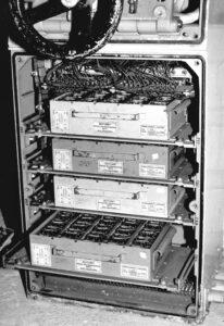 Gruppenhorchgerät (GHG) of the Süd III - Siemens amplifiers 4 VK